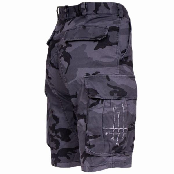 Men's outdoor casual camouflage tactical shorts