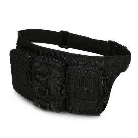 Camouflage outdoor functional belt bag