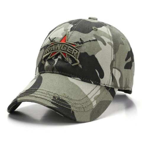 Outdoor Tactical Baseball Cap Mountaineering Camouflage Cap