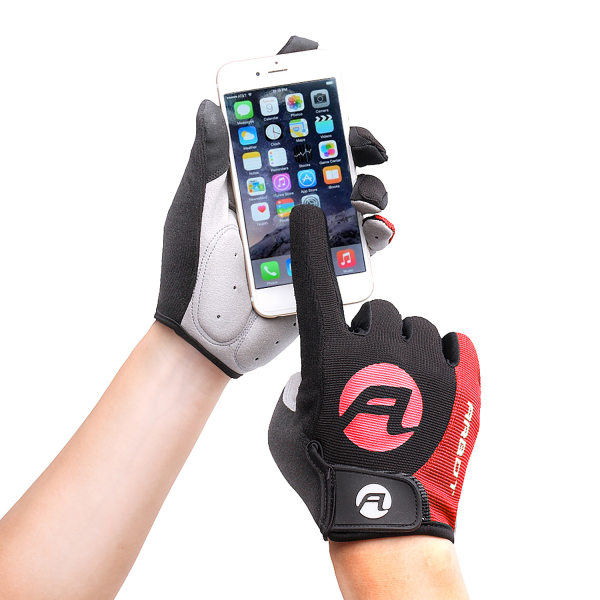 Outdoor Sports Non-Slip Fitness Full Finger Riding Gloves
