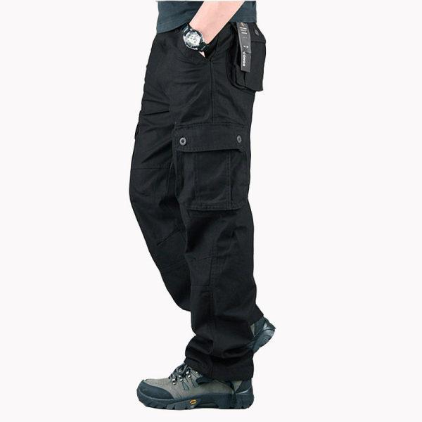Mens Straight Mens Military Casual Pants