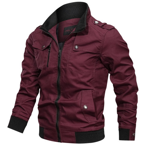 Mens outdoor cotton sports jacket