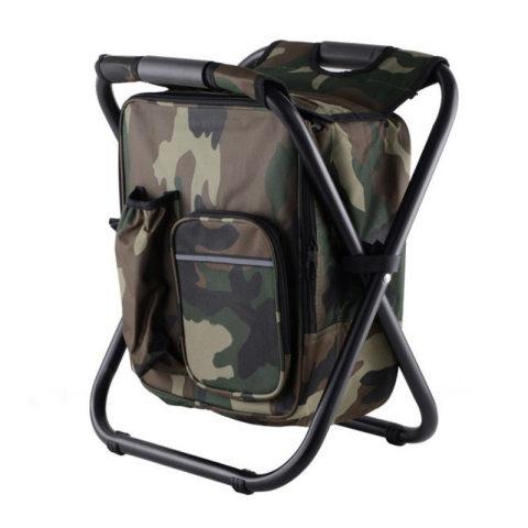 Outdoor multifunctional folding portable stool