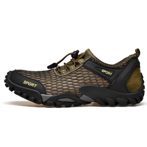 Outdoor non-slip leather sneakers