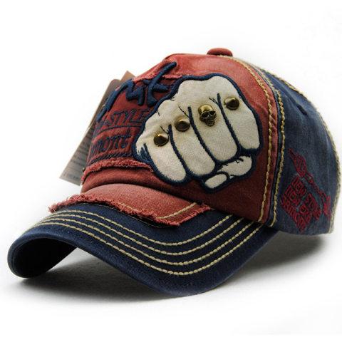 Outdoor letter wicker casual cap