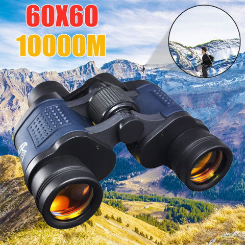 Wholesale 60x60 binoculars with coordinate night vision binoculars high magnification high definition red film telescope