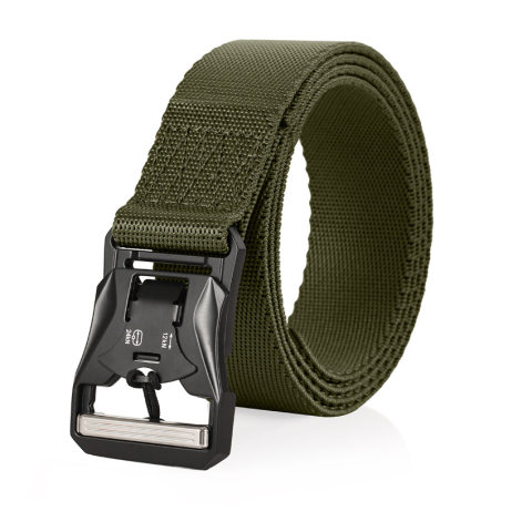 Outdoor multifunctional quick release nylon belt with magnetic buckle