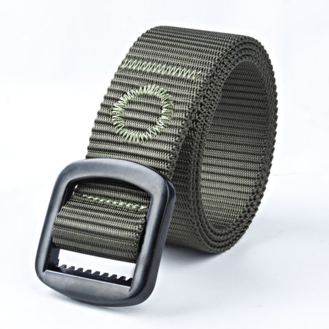 Mens outdoor nylon tactical belt