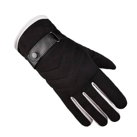 Outdoor deerskin velvet warm gloves
