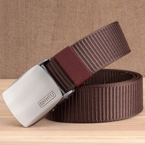 Outdoor Canvas Nylon Field Tactical Belt