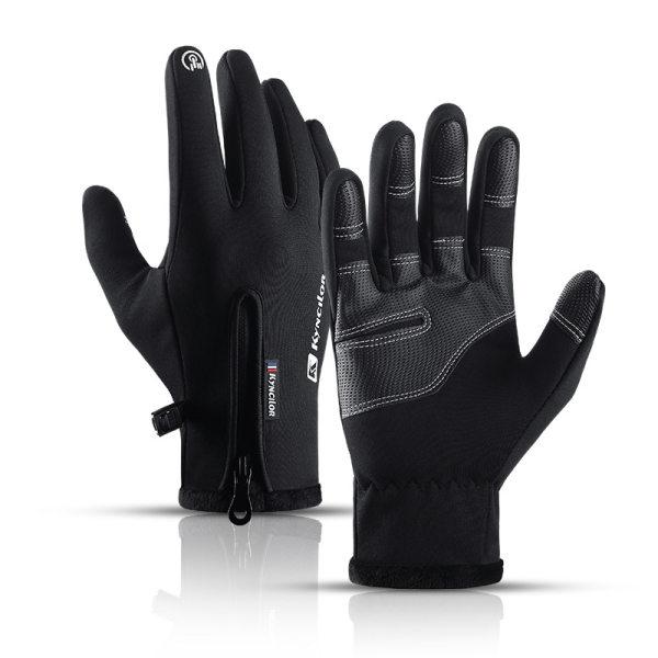 Winter Outdoor Sports Plus Velvet Warm Gloves