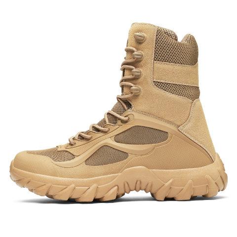Outdoor Large Size Combat Desert Boots