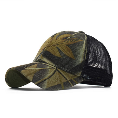 Outdoor sports camouflage baseball cap