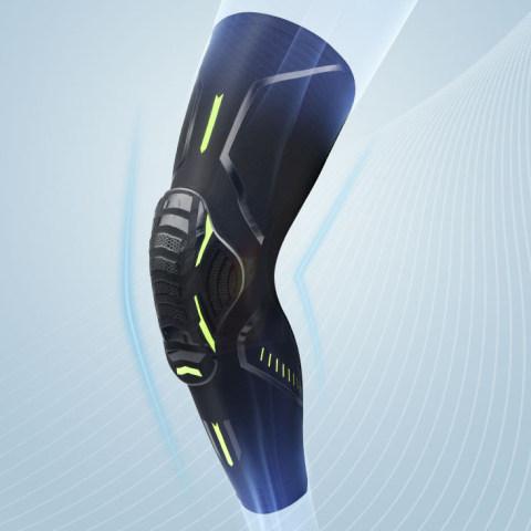 Anti-collision sports knee pads