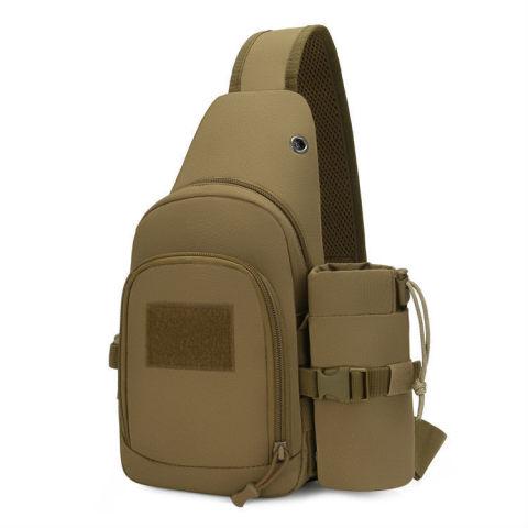 Outdoor waterproof and wear-resistant nylon tactical bag