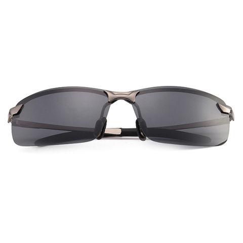 Metal Anti-ultraviolet Polarized Sunglasses