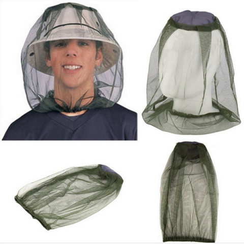Outdoor fishing insect and mosquito cap