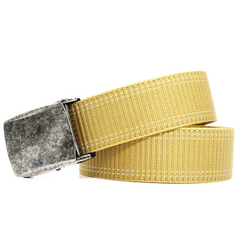 Men's outdoor quick-drying canvas automatic buckle belt
