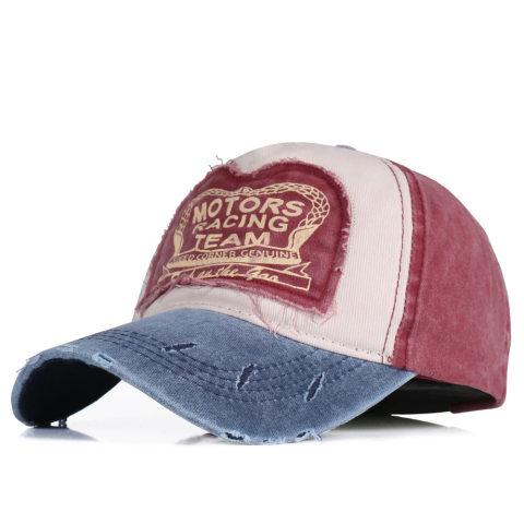 Men's denim washed sunscreen cap sun hat