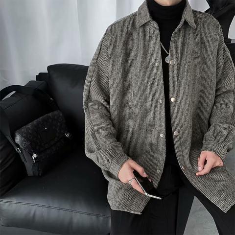 oversize lapel jacket