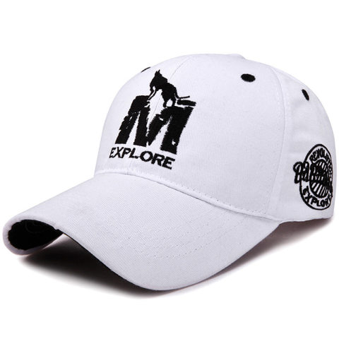 Embroidered baseball cap couple outdoor sports hat
