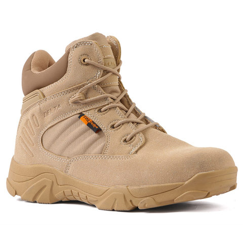 Low cut combat outdoor tactical boots