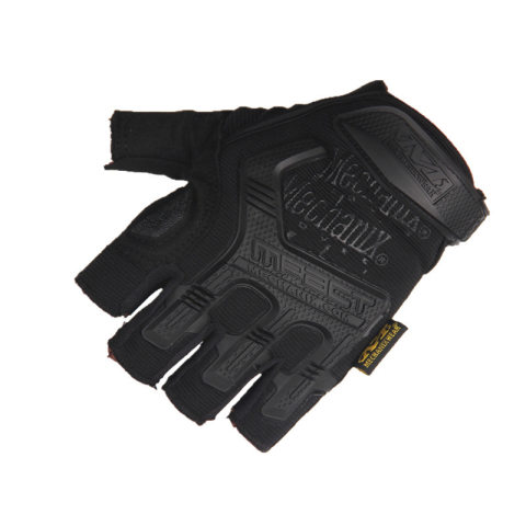Mens outdoor sports anti-cutting tactical half-finger glove