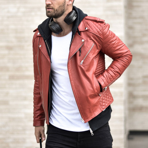 Street fashion biker jacket