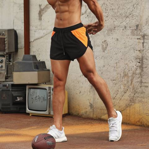 Mens Sports Breathable Quick Dry Casual Shorts