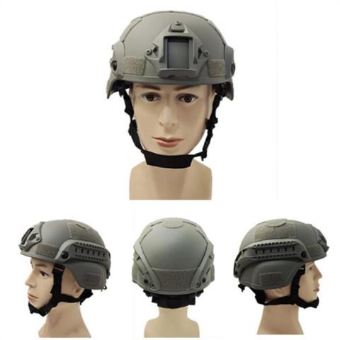 Men's Tactical Helmet with Velcro