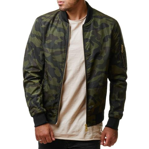 MenS Camouflage Outdoor Military Jacket
