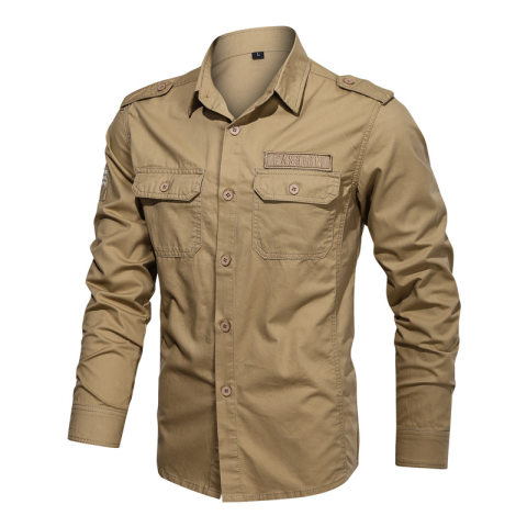 Mens Workwear Long Sleeve Shirt
