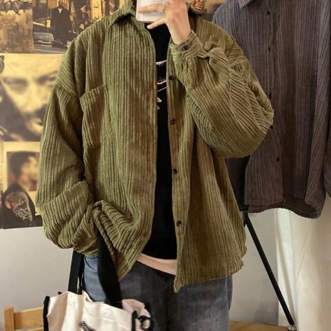 loose corduroy jacket