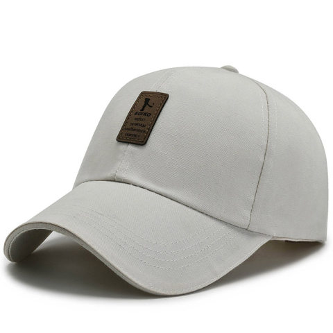 New Korean men's hat canvas baseball cap spring and autumn caps all-match casual sunscreen fishing hat outdoor
