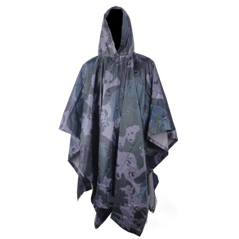 Camouflage Raincoat Waterproof Cloak Poncho