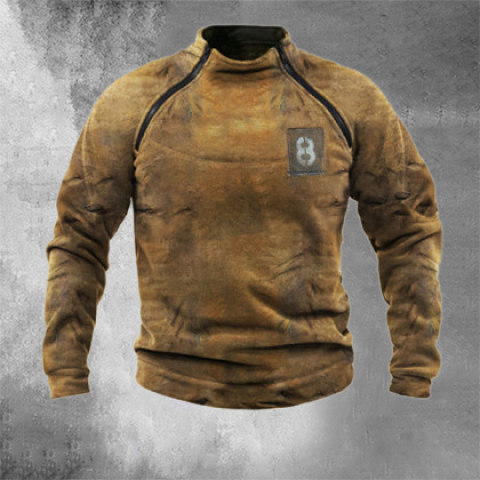 Mens Outdoor Warm And Breathable Tactical Sweater