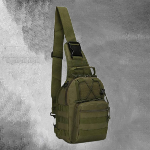Camouflage sports chest bag chest bag