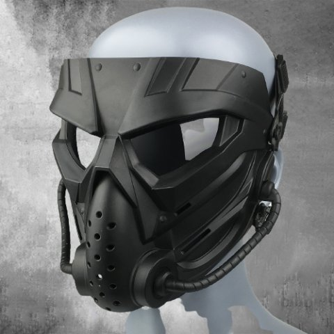 Outdoor Cs Tactical Full Face Protective Mask