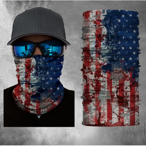 Printed sports magic headscarf multifunctional outdoor ever-changing headscarf sunscreen mask warm neck cover