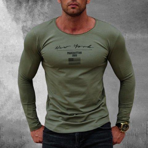 Street Style New York Long Sleeve T-shirt