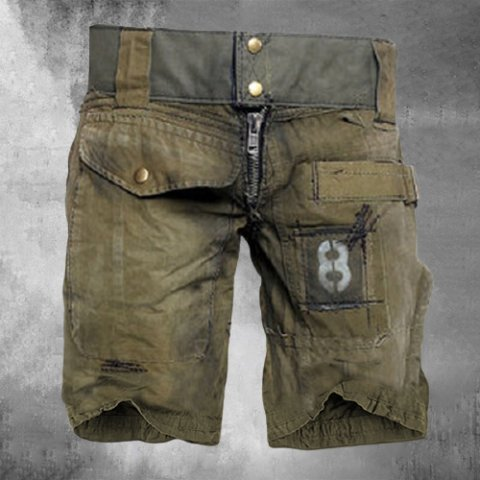 Mens Outdoor Wear-resistant Military Short