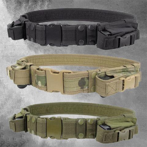 Outdoor multifunctional tactical belt