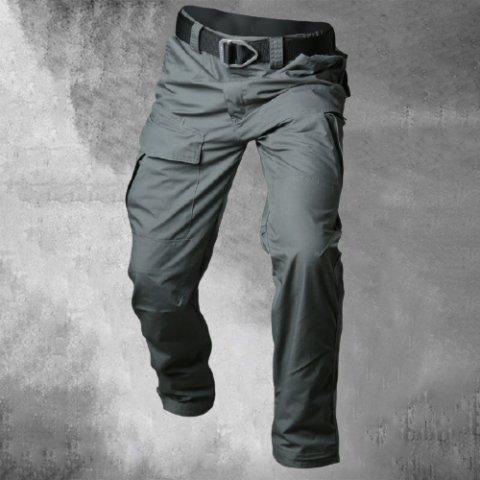 Tactical Waterproof Camouflage Tooling Multi-pocket Wear-resistant Pants