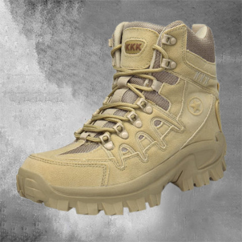 High-top Tactical Boots Outdoor Wear-Resistant Training Boots
