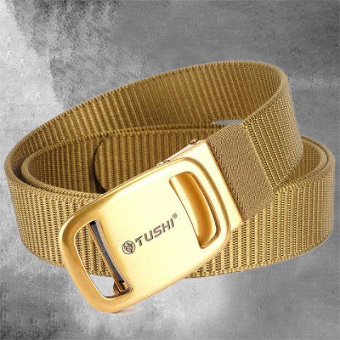 Automatic Buckle Nylon Belt Leisure Belt Canvas