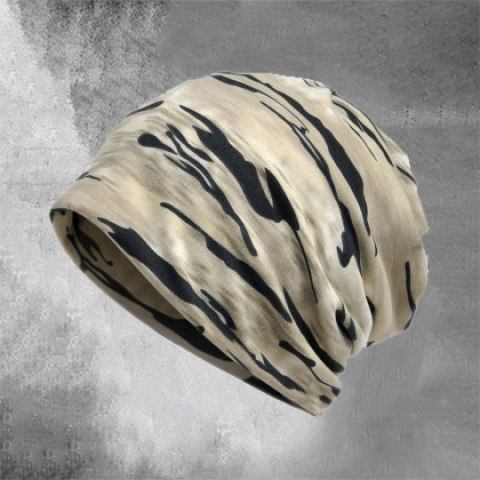 Mens Camouflage Hood Outdoor Riding Toe Cap