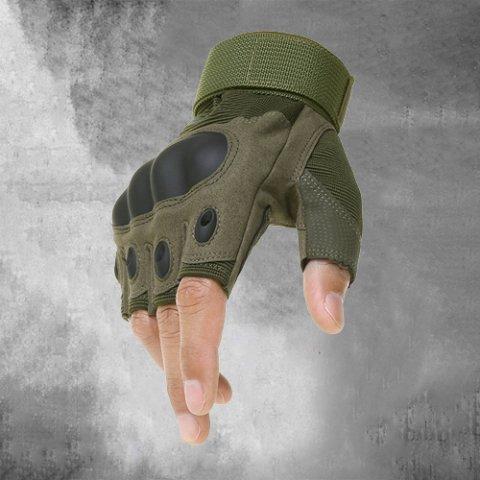Tactical outdoor half finger gloves