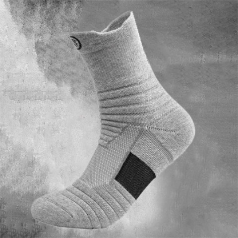 Mens Long Basketball Socks