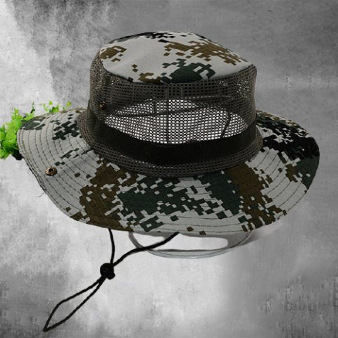 Outdoor Breathable Sunscreen Camouflage Hat