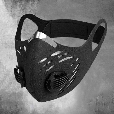 Male outdoor anti-smog activated carbon mask